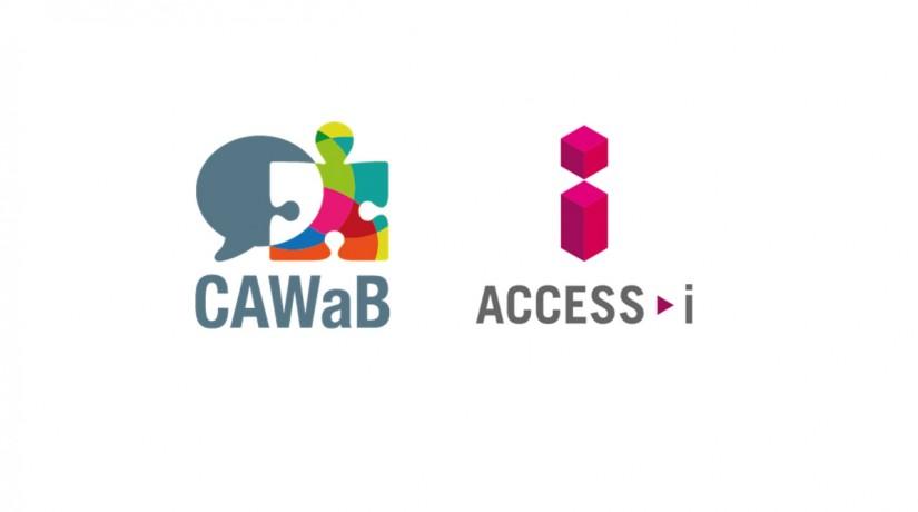 Logo du CAWaB et d'Access-i