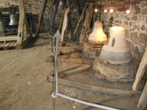 Ancien atelier : exposition de cloches