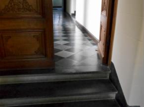 Escaliers non sécurisés