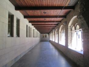 Couloir de circulation du Cloître