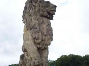 Le lion - barrage de la Gileppe