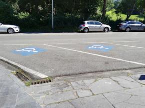 Parkings réservés