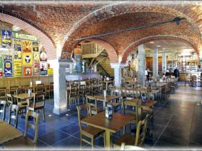 espace grange des belges : salle de restauration