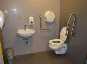 WC pour PMR