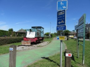 Entrée du circuit - Aubel vers Hombourg