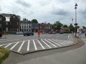 Stationnement Place de Fléron