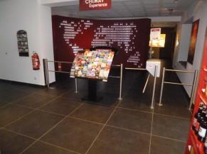Accès à l'entrée du musée