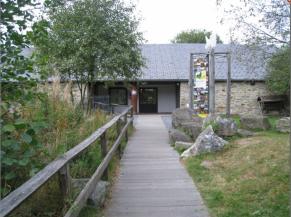 Entrée de la Maison du Parc Naturel