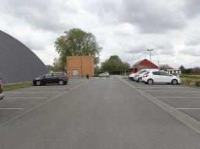 Parking du centre de vaccination