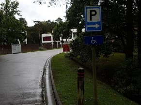 Signalisation parking PMR