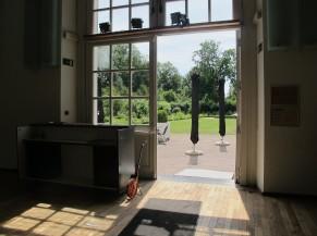 Porte d'entrée de l'Orangerie