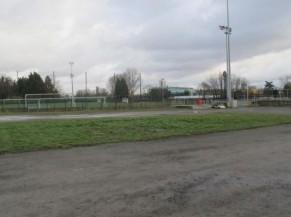 Parking intérieur au site - emplacements non délimités