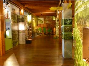 Intérieur de l'exposition