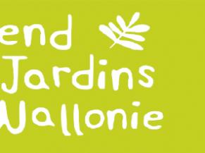 Week-end des parcs et jardins de Wallonie - affiche