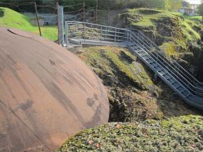 Vue du site du Fort