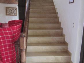 escalier vers le 1er étage