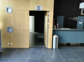 Porte WC