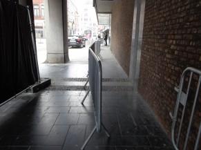 Voie d'accès vers la porte d'entrée (Rue Saint Jean-Baptiste)