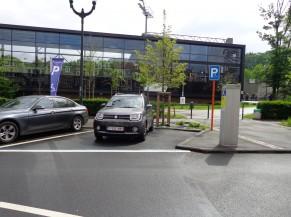L'emplacement de parking PMR