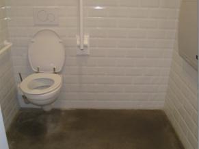 WC adapté