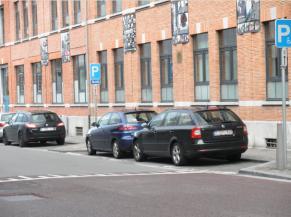 Parking PMR en voirie