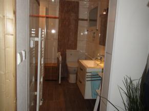 Porte à ouverture automatique pour la salle de douche/wc