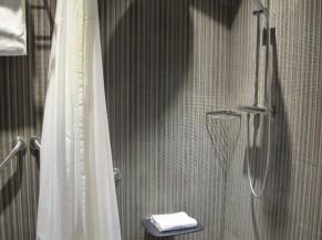 Douche de la chambre adaptée