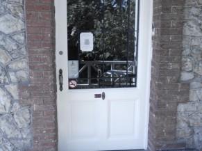 Porte d'entrée principale