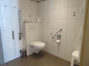 WC dans la salle de douche