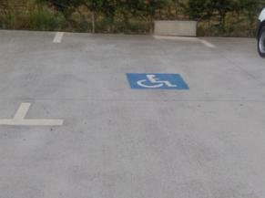 Parking réservé PMR