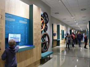 Vue d'une salle du musée