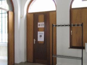Porte d'entrée PMR