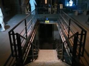 L'escalier du Musée de la Fosse St-Emmanuel