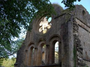 facaçde de l'abbaye