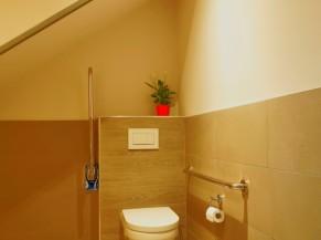 WC adapté à l'entrée