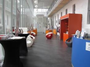 Accueil du musée et sa zone de repos