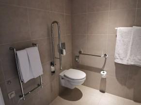 WC ADAPTE DANS LA SALLE DE BAIN