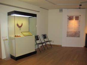 Vue d'une salle d'exposition temporaire