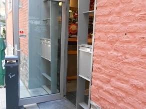 Porte entrée avec ressaut 3 cm