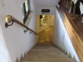 escalier pour se rendre au centre wellness