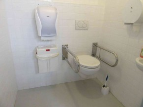 WC PMR au rez de chaussée