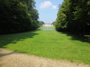 Point de vue sur le Château depuis la Colonne commémorative