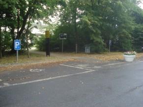 Parking : emplacements PMR