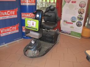 Scooter mis à disposition de la clientèle