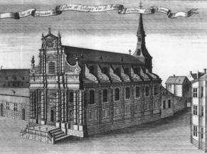 Dessin ancien de l'église