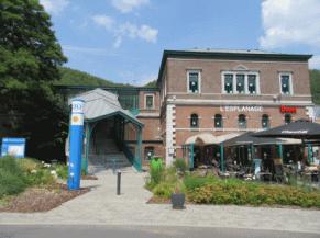 façade de la gare