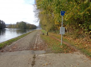 Deuxième portion de pavés à hauteur de Rivière de 311m de long