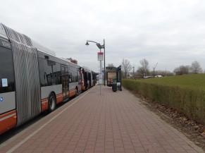 Arrêts de transports en commun (bus) à proximité de l'hôpital