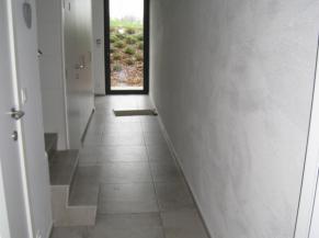 Couloir d'entrée au rez-de-chaussée