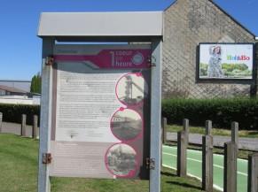 Panneau d'information touristique